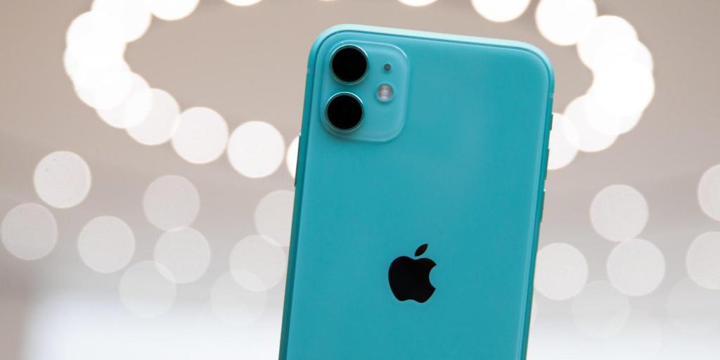 Популярность смартфонов Apple